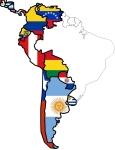 Mapa-de-los-países-hispanohablantes América Latina