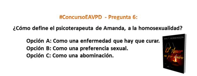 #ConcursoEAVPD – Pregunta 6