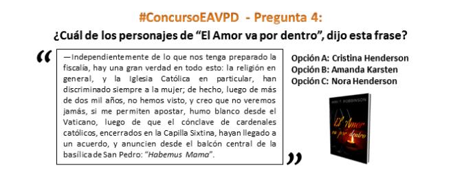 #ConcursoEAVPD – Pregunta 4